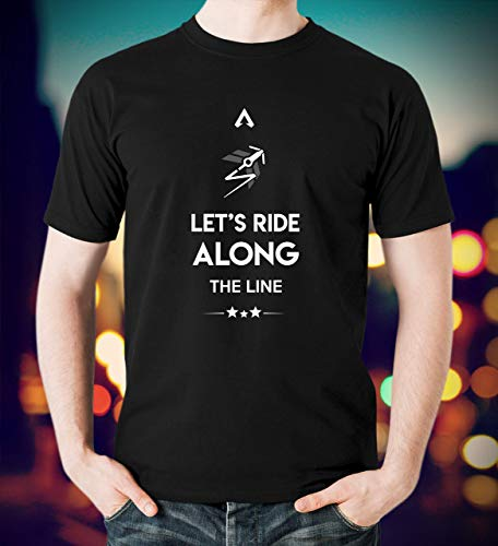 (Let's Ride Along The Line Apex Legends Gamer T-Shirt Hoodie)