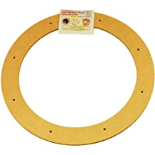 "Biodegradable Floral Craft Ring, 12"", Ez Glueable Wreath Form, for Photo Frame, Other Arts, Crafts and Creative Projects"