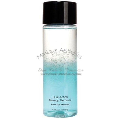 Makeup Dual Remover Action (Dual Action Makeup Remover - For Eyes & Lips - 4.4 Fl. Oz. - Cruelty Free, Paraben-free)