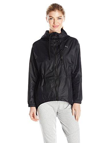 (PUMA Women's Explosive Jacket, Black/Irridescent, XL)