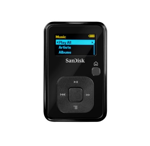 SanDisk Sansa Clip+ 4 GB MP3 Player (Black)