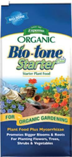 - Espoma BTSP8 Organic 4-3-3 BioTone Starter Plus Fertilizer, 8 lb