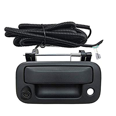 Ford Backup Camera Tailgate Handle Car Rear View Camera Car Camera for Ford F150/F250/F350/F450/F550 (Color: Black): Car Electronics