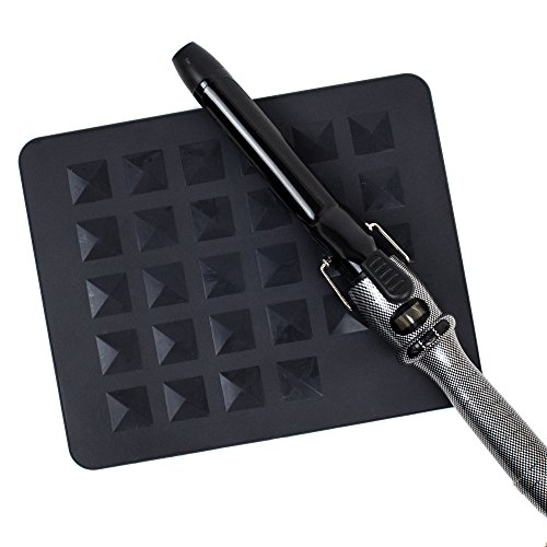Heat Resistant Station Mat for Curling Rods, Flat Irons & Other Hot Styling Tools - Silicone 11