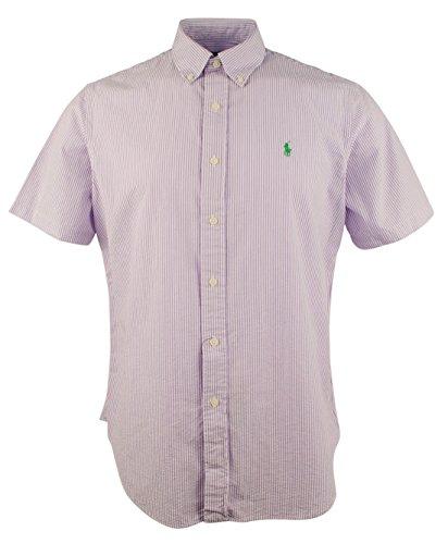 Polo Ralph Lauren Mens Textured Button-Down Button-Down Shirt