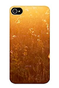 Hot NqIldub896eNzSn Case Cover Protector For Iphone 4/4s- Nature Flowers Summer Sunlight / Special Gift For Lovers