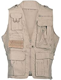 HUMVEE Cotton Safari Vest with Extra Pockets
