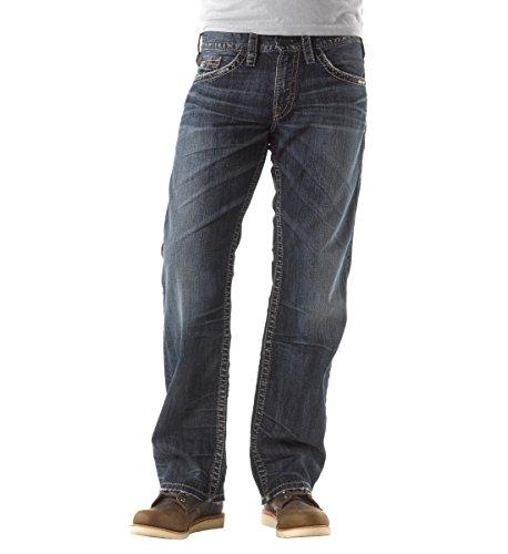 Silver Jeans Men's Zac, Indigo, 38x30