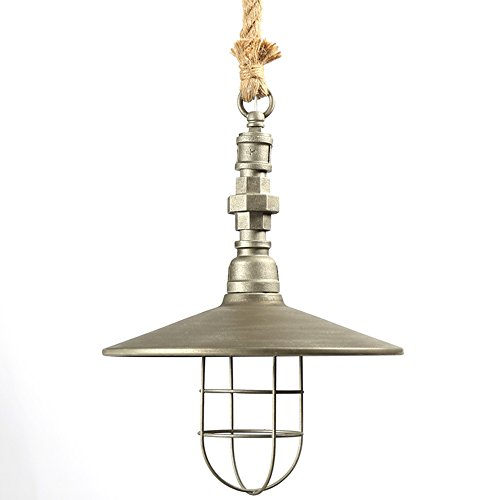 Galvanized Pendant Light Shades - 8