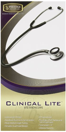 Prestige Medical Clinical Lite Stethoscope, Royal