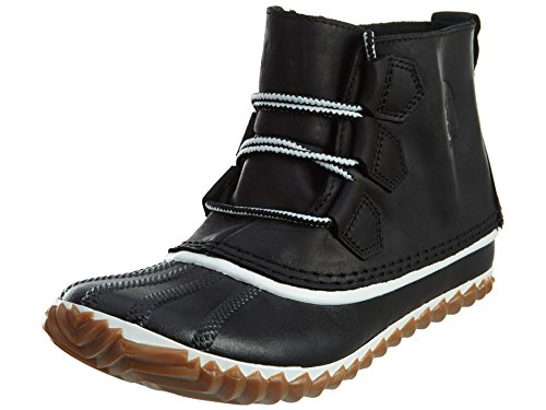 SOREL Women#039s Out #039N About Leather Black 2 95 B  Medium