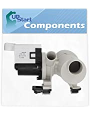 W10730972 Washer Drain Pump Motor Assembly Replacement for Whirlpool, Maytag & Amana Washing Machines - Compatible with Part Number AP6023956, 8540025, 8540027, 8540028, 8540996, PS11757304