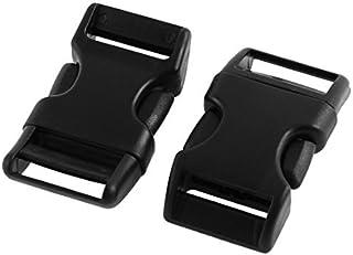 2pcs Packbag Replacement Side Quick Release Buckle 2cm Largeur Strap