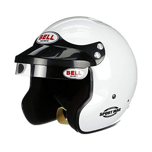 - Bell 1426006 SPORT MAG WHITE 3X-LARGE (65-66) SA2015 V.15 BRUS HELMET