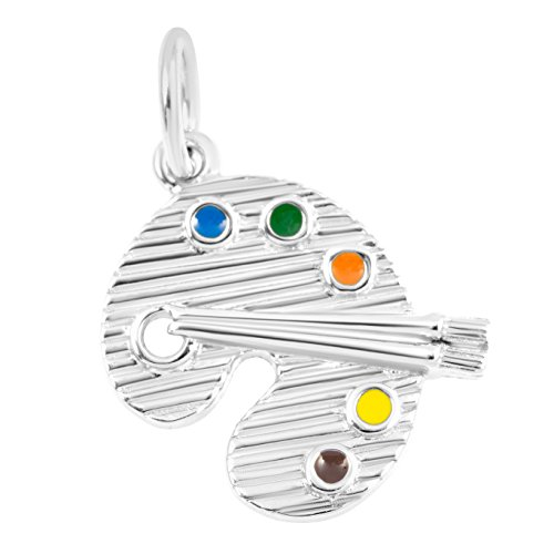 Necklace & Bracelet Charms – Graduate & Profession Theme Fine Jewelry by Silver on the - Sterling Art