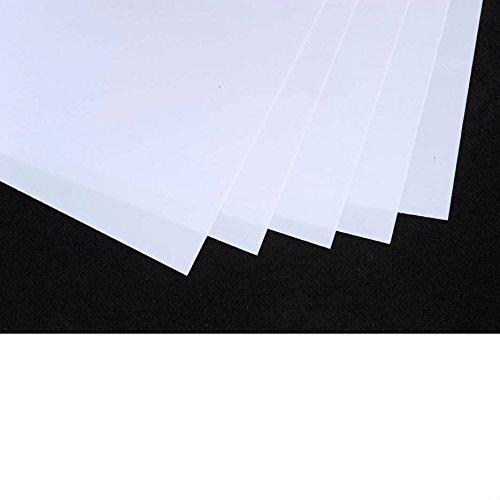 20x30cm lot de 10 blanc d/époli Plastique fou ou plastique dingue