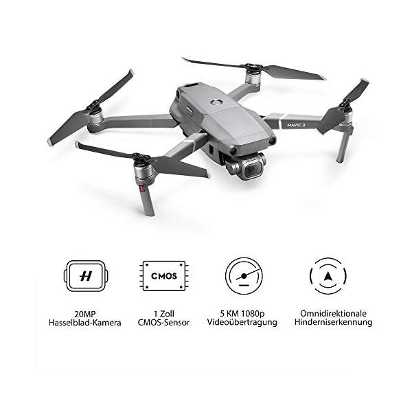 DJI Mavic 2 Pro Drone con Fotocamera Hasselblad L1D-20c + Set di Filtri per Mavic 2 Pro 3 spesavip