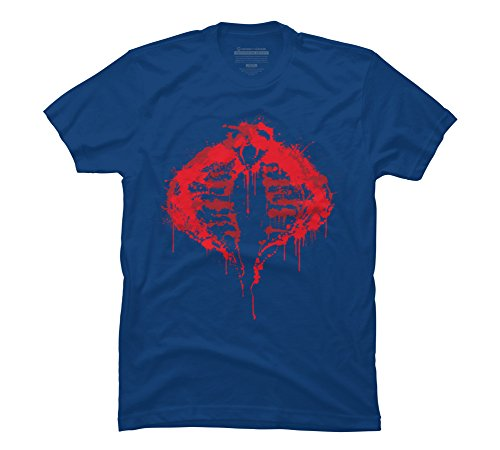 Cobra for Life Men's X-Large Royal Graphic T Shirt - Design By -