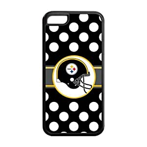 Custom NFL Pittsburgh Steelers Inspired Design TPU Case Back Cover For Iphone 5c iphone5c-NY516