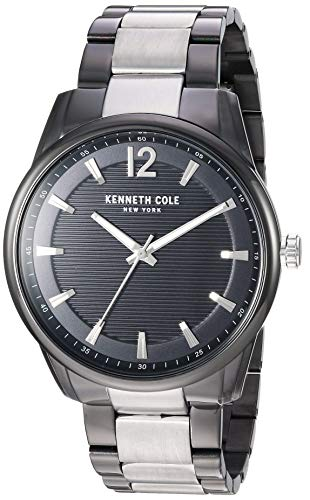Kenneth Cole New York Men's Classic Japanese-Quartz Watch with Stainless-Steel Strap, Two Tone, 19.8 (Model: KC50688003)