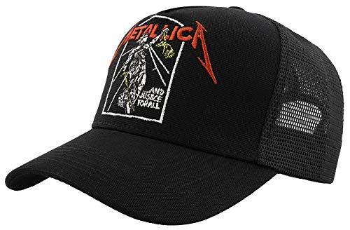 Metallica Justice Gorra Negro