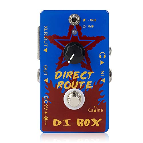 Caline Guitar Pedal Effects DI Box Acoustic Guitar Amp Distortions Direct Route Blue True Bypass CP-64
