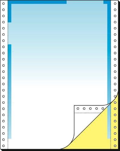 SIGEL 26246 Endlos-Briefbogen 12 Zoll x 240 mm (A4 hoch), 80/57 g, 500 Sätze 2fach