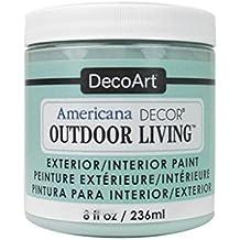 Decoart DECADOL-36.13 Outdoor Living 8oz Frostdglass Americana Outdoor Living 8oz Frosted Glass