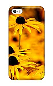 Slim Fit Tpu Protector Shock Absorbent Bumper Yellow Flowers Case For Iphone 5/5s THU7L8ANT70FRX4G