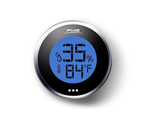 Hygrometer Humidity Meter Digital Gauge Thermometer Monitor Sensor Indoor Outdoor by Epotech