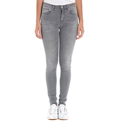 Pinko Femme 1J107MY417I99 Gris Coton Jeans