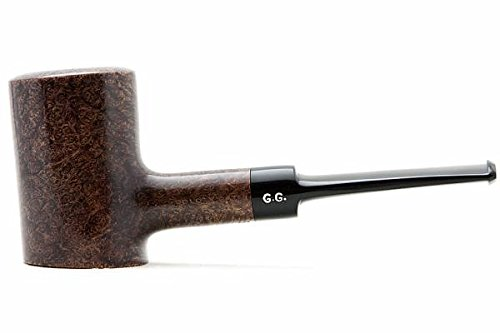 Watson&G.G. - BRIAR Tobacco Smoking pipe - POKER - Hand Made, Self-Standing + Branded Pouch (special edition for Watson) (D.Brown)