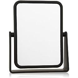 Danielle Soft Touch 7X Rectangular Mirror, Matte Black