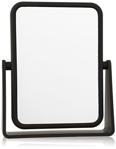 Danielle Soft Touch 7X Rectangular Mirror, Matte - Black Mirror Canada