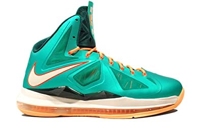 new style 50f30 f01d4 Nike LeBron 10 XDR Miami Dolphins (543645-302) Green
