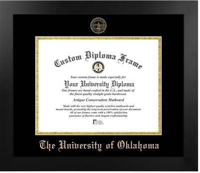 University of Oklahoma Most Popular Diploma Frame