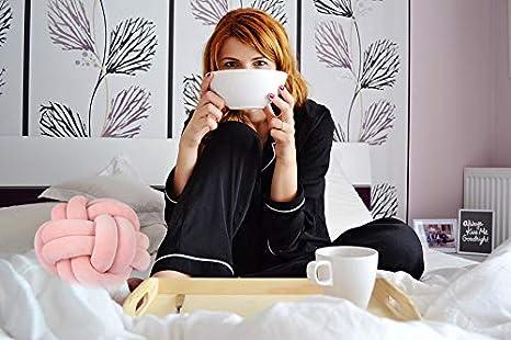 Blue Green Modern Home Sofa Decor Pillows Pillow FLORAVOGUE Knot Pillow Home Decorative Cushion