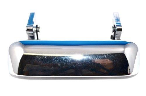 American Shifter 78978 Blue Metal Flake Shift Knob with M16 x 1.5 Insert Green Shift Pattern 34n