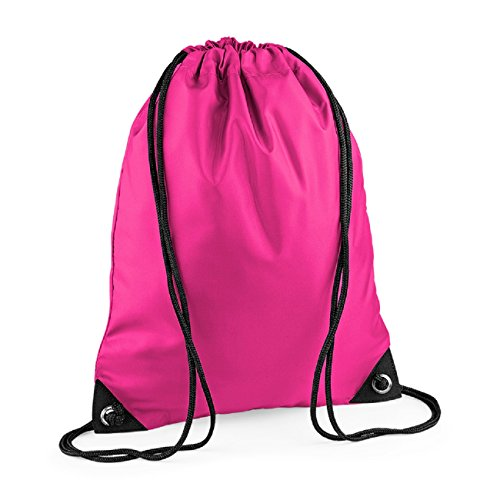 Bagbase Fuchsia Pocket Shoulder Strap Unisex Bag Retro Zipped Colours rHr8qz