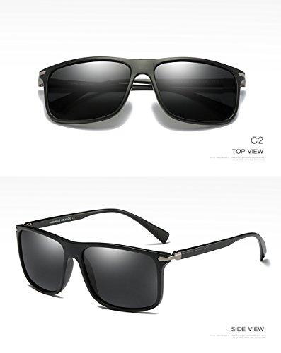 Sol De Aviator C2 Polarizadas UV C2 Mujer para Gafas Hombre Protección 400 para Z1xwqc