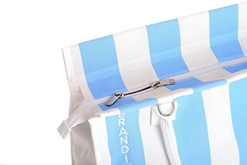 The Pour Femme Sac Porter Isola À Brandina Azzurra L'épaule Original Multicolore dtqtf