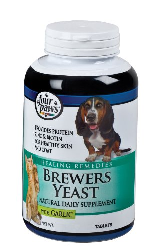 Brewers Yeast Tablets with Garlic, 250-Count, My Pet Supplies