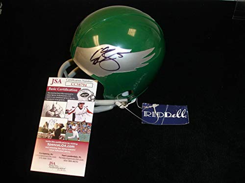 Donovan McNabb Signed Mini Helmet - #5 JSA - Autographed NFL Mini Helmets