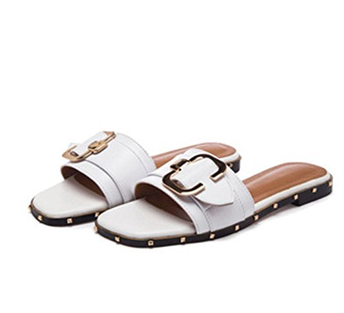 de oras Las remachan MEILI las la sandalias casuales 2 se playa 0wdBxqdZ
