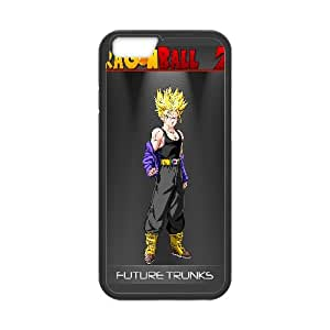 Future Trunks Dragon Ball Z Anime iPhone 6 Plus 5.5 Inch Cell Phone Case Black persent xxy002_6044479
