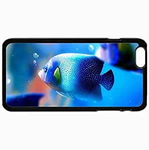 Customized Cellphone Case Back Cover For iPhone 6 Plus, Protective Hardshell Case Personalized Fish Black by mcsharks