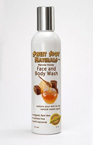 Organic face wash for sensitive skin