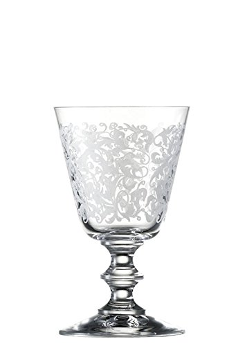 Set Aperitif (Eisch 15862020 Vincennes Hand-Etched Lead-Free Crystal White Wine/Aperitif (2 Set), 7.4 oz, Clear)