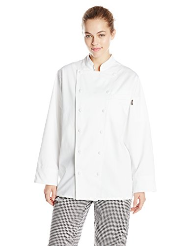 Dickies Chef Women's Annabella Executive Coat, White,