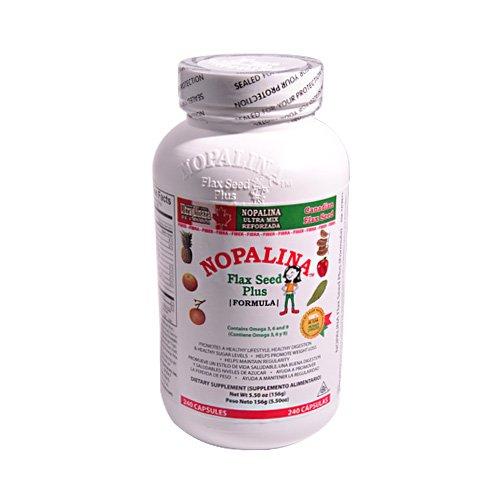 Nopalina Flax Seed Plus Capsules 240 Capsules
